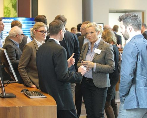 Online Software AG Partnertag 2016 Gespräche