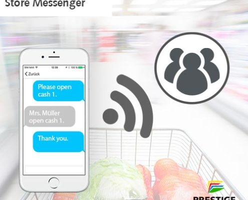 Online Software AG PRESTIGE Partnertag Store Messenger