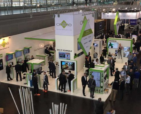 Online Software AG EuroShop 2017 Stand