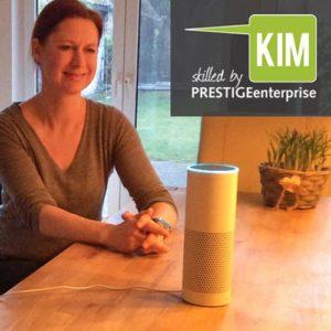 Online Software AG PRESTIGE Bot KIM Hit Sütterlin Alexa Skill