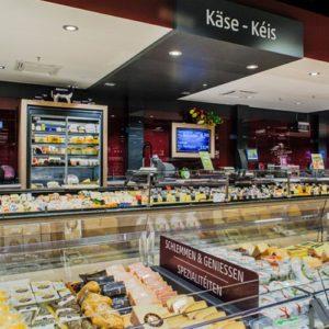 Online Software AG REWE Hundertmark Käsetheke