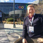 Jürgen Berens von Rautenfeld besucht die google firmenzentrale im rahmen einer innovation tour