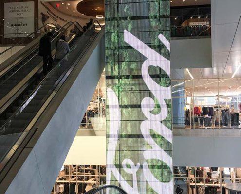 storecheck new york mit digitalem banner bei eataly