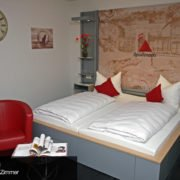 Ansicht des Apollinaris Zimmer im food hotel