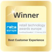Logo Winner reta retail technology Best Customer Experience