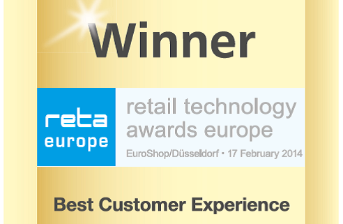 Logo Winner reta retail technology Best Customer Experience
