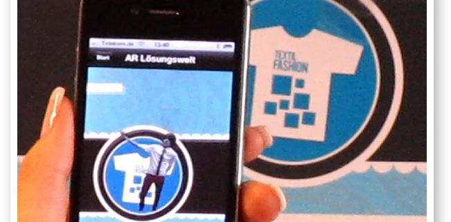 Beispiel Smartphone Augmented Reality live Lösungswelt