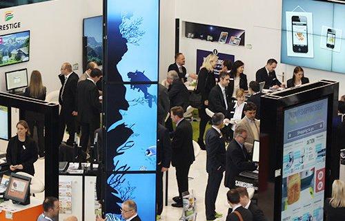 EuroCIS 2014 Stand Vogelperspektive