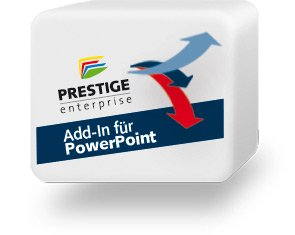 PRESTIGEenterprise Icon Add-In für Powerpoint