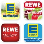 Kunden Apps Edeka Rentschler Stolzenberger REWE Nüsken Schulenburg