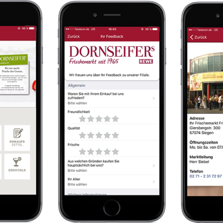 Online Software AG Dornseifer Mobile app