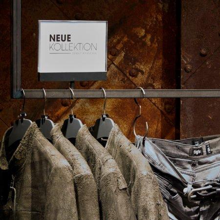 wormland Werbeplakat Aufsteller Neue Kollektion Fashion