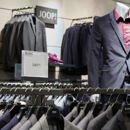 wormland Angebotsplakat Aufsteller Anzüge Fashion