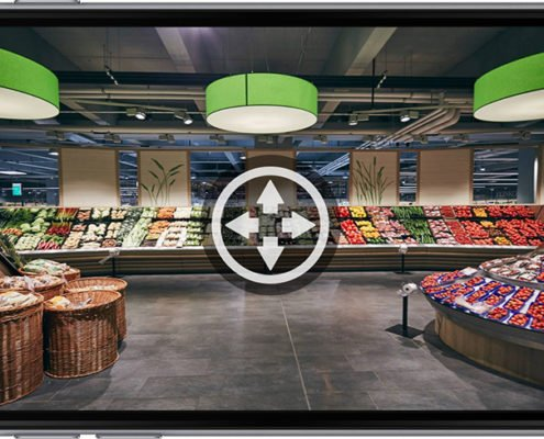 Vollbild Dornseifer Mobile App 360 Grad quer Innenbereich