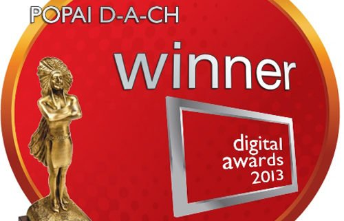 LOGO Award POPAI digital awards winner 2013