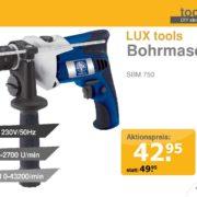 PRESTIGE DIY Bohrmaschine Vorlage Display Aktionpreis Plakat