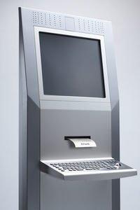 Kiosk rezept Terminal mit Bondruck und Tastatur