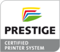 Logo PRESTIGE certified printer system