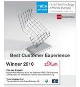 Logo retail technology Award Winner 2010