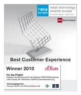 Logo retail technology Award Winner 2010