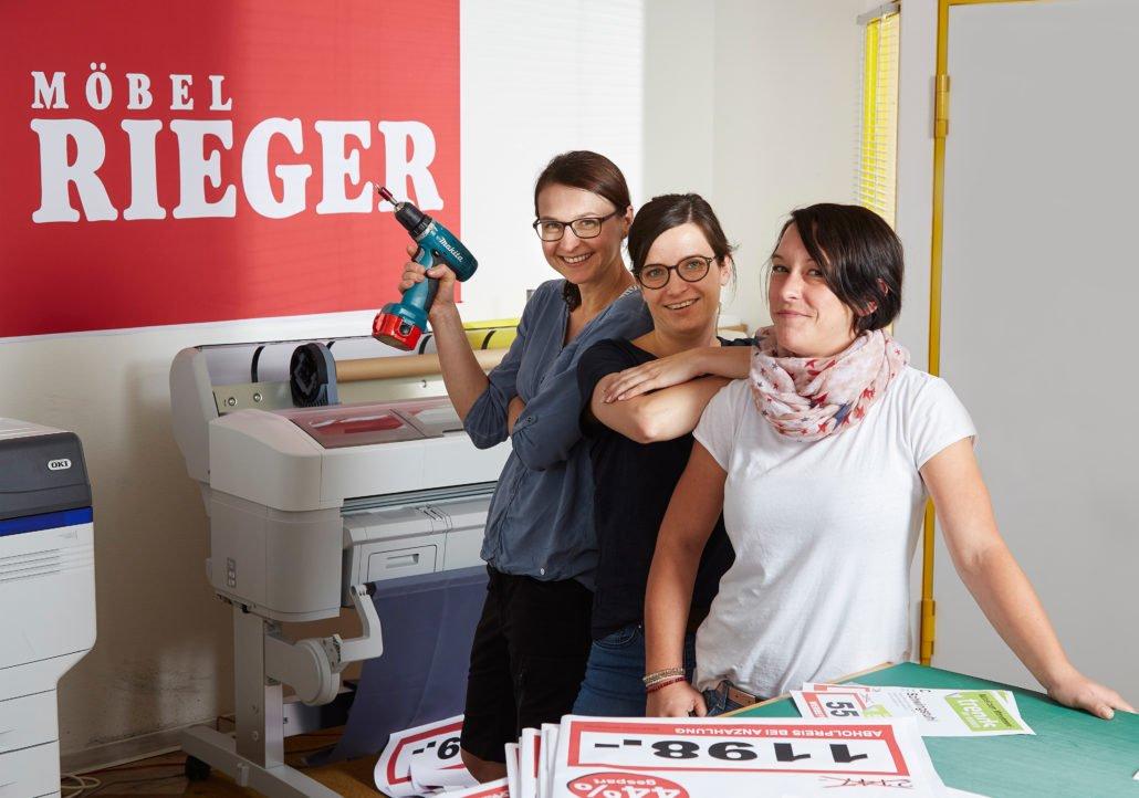 Möbel Rieger Deko Team