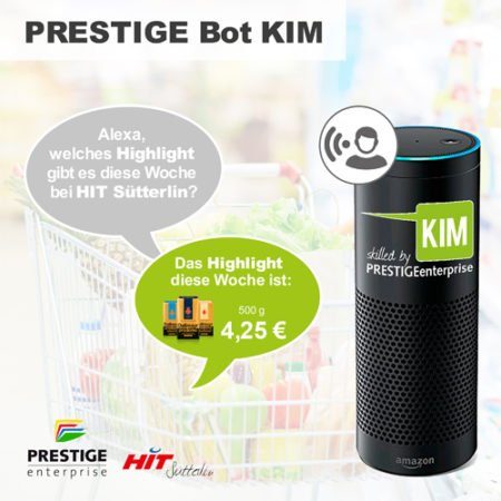 Online Software AG PRESTIGE Bot KIM Shopping HIT Sütterlin