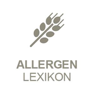 PRESTIGEenterprise AppBaukasten Modul Allergen Lexikon