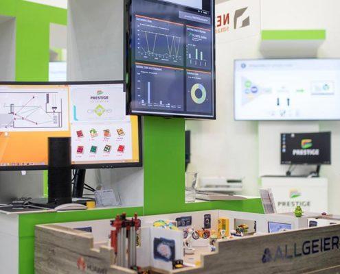 Online Software AG EuroCIS 2018 Allgeier IoT Store
