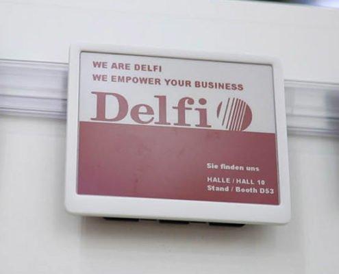 Delfi farbige ESLs Partnerschaft Online Software AG