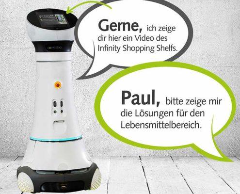 Online Software AG PRESTIGEenteprrise Roboter Paul