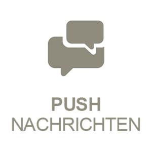 PRESTIGEenterprise AppBaukasten Modul Push Nachrichten