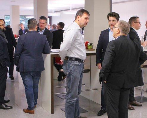 Fachgespräche auf dem PRESTIGE Partnertag 2018 der Online Software AG