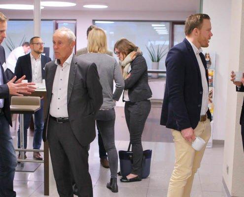 Gespräche auf dem PRESTIGE Partnertag 2018 der Online Software AG