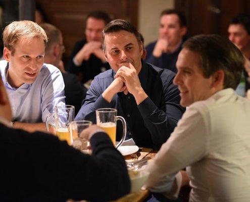 Interessante Diskussionsrunde auf der Abendveranstaltung zum PRESTIGE Partnertag 2018