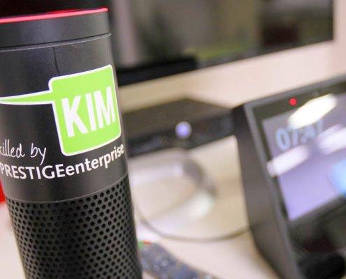 Sprachassistent Alexa mit PRESTIGEenterprise Skill KIM für den POS