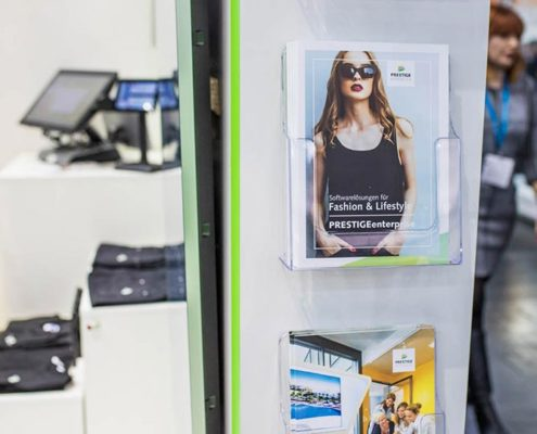 PRESTIGE Lösungsbroschüre für den Modehandel