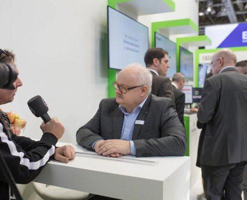 Interview Volker Wissmann auf der EuroCIS