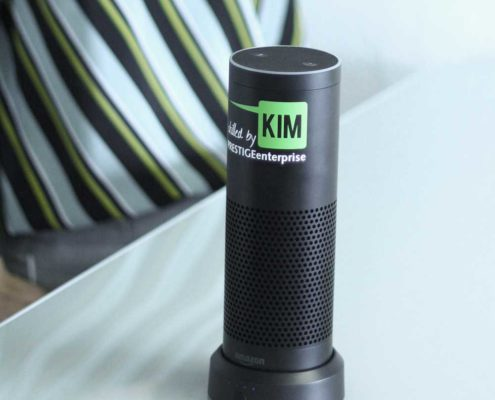 Skill KIM Shopping für Amazon Echo basierend auf der Software PRESTIGEenterprise