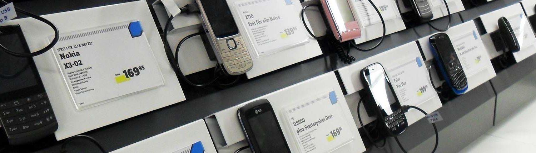 Etikettendruck Software - Preisetiketten für Handys