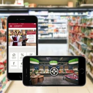 Multichannel Retail - Werbung Online Software AG auf Smartphone