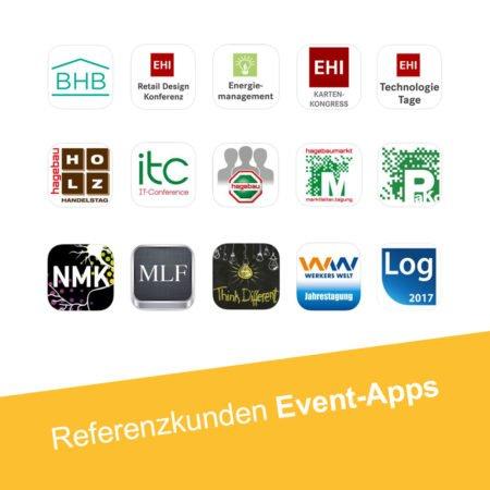 Event Apps im Überblick - Apps mit dem PRESTIGEenterprise AppBaukasten