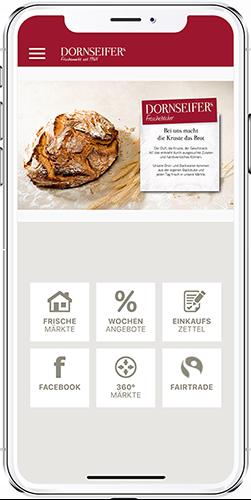 App-Menü Dornseifer