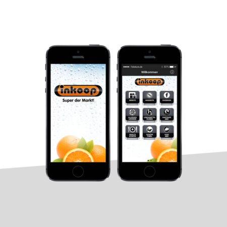 Ansichten der Inkoop Händler-App mit dem PRESTIGEenterprise AppBaukasten