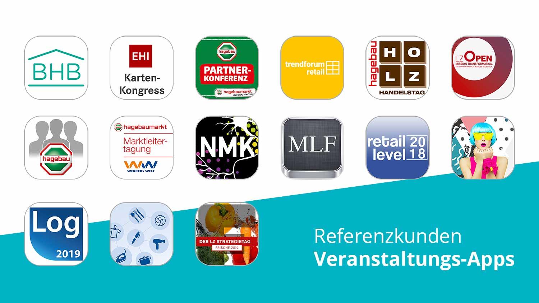 Referenzkunden Veranstaltungs-Apps