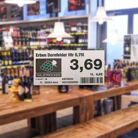 Etikettendruck - EDEKA Nord Meibohm