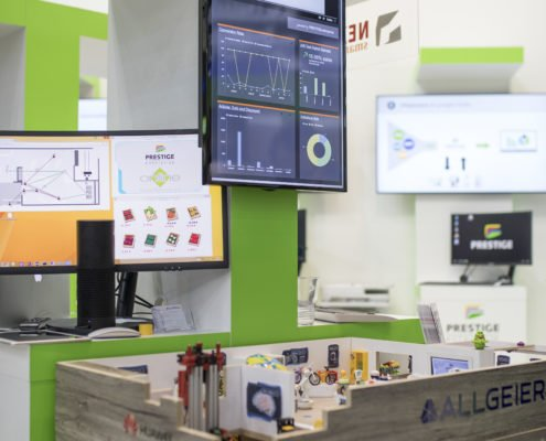 EuroCIS IoT Store Statistik Display