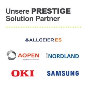 Partner auf der EuroCIS - Allgeier ES, AOPEN, Nordland, OKI und Samsung