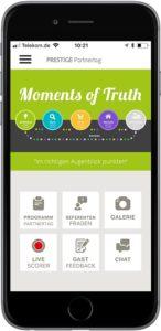 Event-Apps mit dem AppBauksten von PRESTIGEenteprise