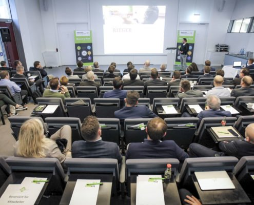PRESTIGE Partnertag 2019 - Teilnehmer im Auditorium