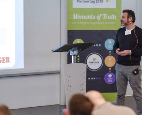 PRESTIGE Partnertag 2019 - Referent Tobias Weber